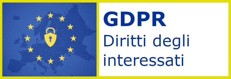 GDPR - Diritti degli interessati